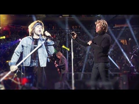Bon Jovi - Livin' On A Prayer - 1995 & 2012 Duet