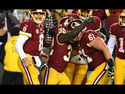 Every Redskins Touchdown In The 2016-17 Season