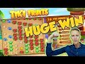 BIG WIN!!! TIKI FRUITS BIG WIN - Huge win - Casino games (Online slots)
