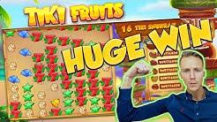 BIG WIN!!! TIKI FRUITS BIG WIN - Huge win - Casino games (Online slots)