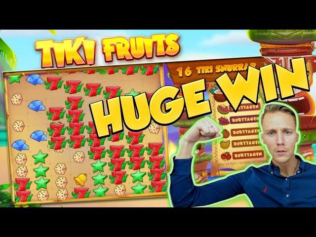 Big Win Tiki Fruits Big Win Huge Win Casino Games Online