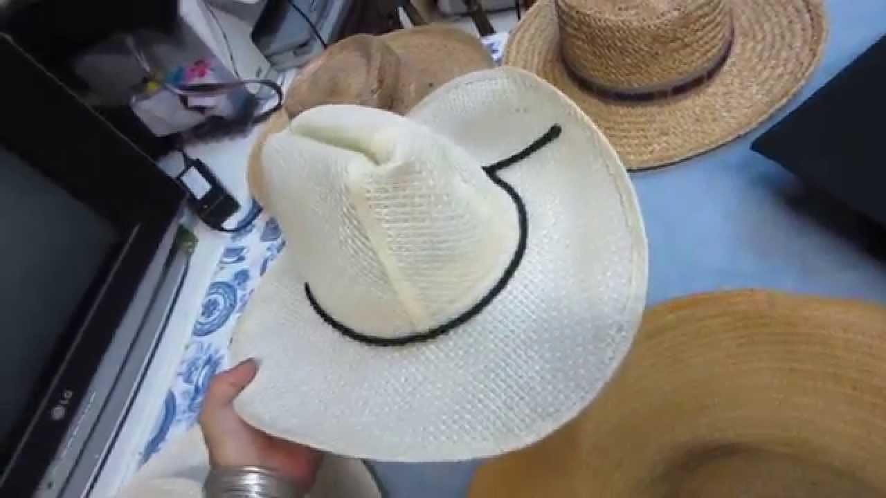 CHAPEU FEMININO, COWBOY,PRA FORMATURA - YouTube 647b6e641f