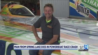 Spring Lake man killed in powerboat racing crash