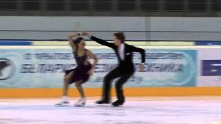 15 D. MOROZOVA / M. ZHIRNOV (RUS) - ISU JGP Minsk 2013 Junior Ice Dance Free Dance