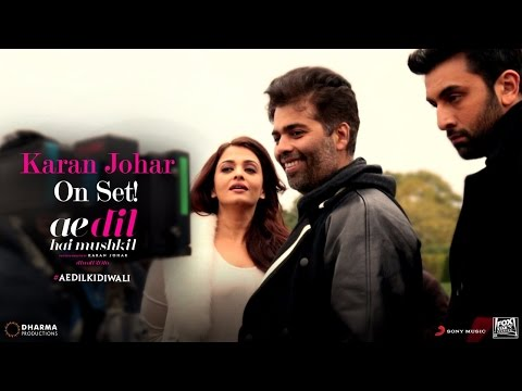 Ae Dil Hai Mushkil | Karan Johar On Set |...