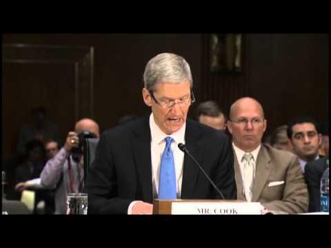 Apple's Tim Cook: U.S. Tax Code Handicaps Companies