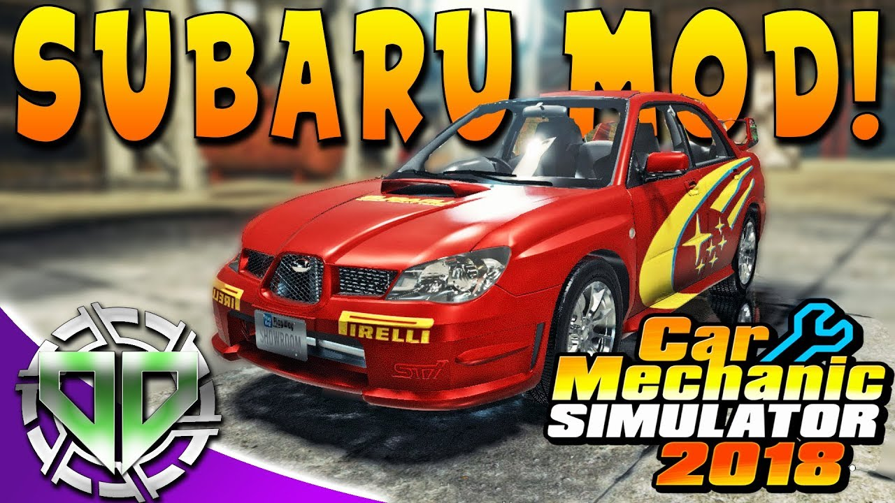 Car Mechanic Simulator 2018 Subaru Impreza Wrx Sti Restoration