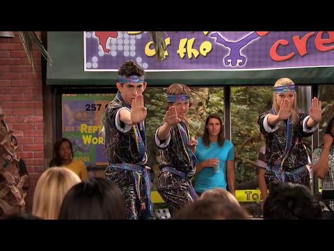 Kickin It   Jerry Vs Smooth Dance Fight Scene