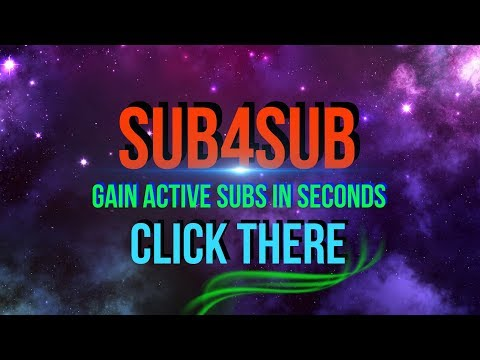SUB4SUB | Gain Active Subs Fast | Get Subscribers 24/7