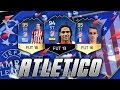 THE BEST OF ATLETICO MADRID  W  95 GRIEZMANN  AWESOME FIFA GENERATIONS