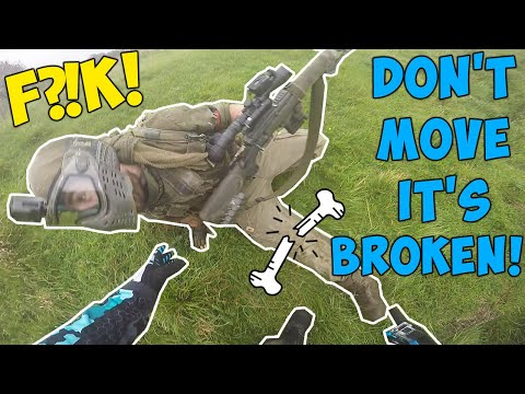 INJURIES IN PAINTBALL 😨 ► BEST/WORST Eliminations U0026 Kills ► PAINTBALL FUNNY MOMENTS U0026 FAILS