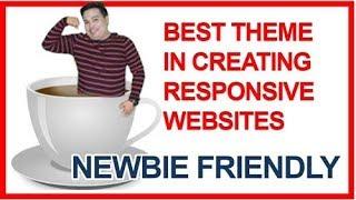 BEST WORDPRESS THEME for Blog, Portfolio, ecommerce, photography - Responsive