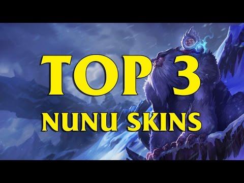 TOP 3 Custom Nunu Skins League of Legends