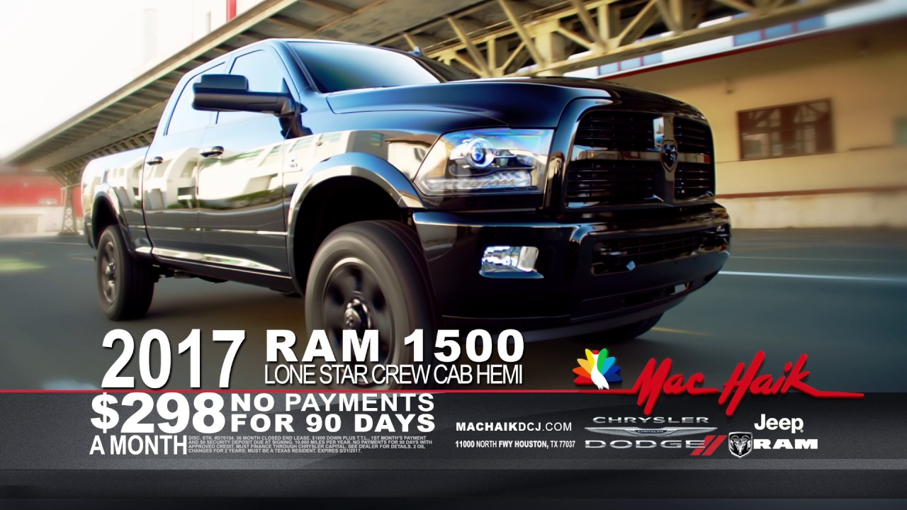 All Month Long Memorial Day Sell - Mac Haik Dodge Chrysler Jeep Ram