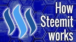 How Steemit Works: Where Does The Money Come From? Blockchain Explanation