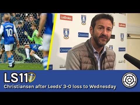 LS11 | Thomas Christiansen after Leeds' loss to Wednesday