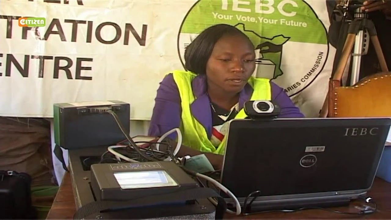 IEBC to miss voter registration target
