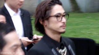 The japanese actor Yosuke Kubozuka 窪塚 洋介 for the Dior Homme fas...