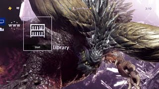 Monster Hunter: World - Nergigante Paid PS4 Theme