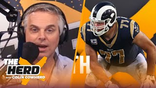 Andrew Whitworth weighs in on Rodgers & Packers, Andy Dalton, SEC football, Rams | NFL | THE HERD