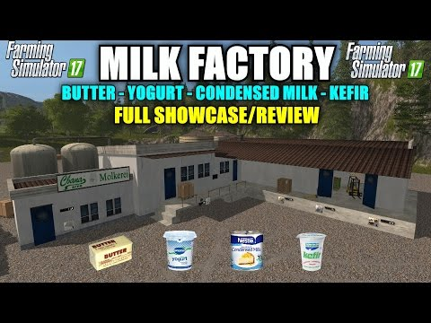 "Farming Simulator 17 - SA Milk Factory v1.0 Placeable ""Mod Review"""