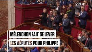 Quand Jean-Luc Mélenchon fait ovationner Edouard Philippe à l