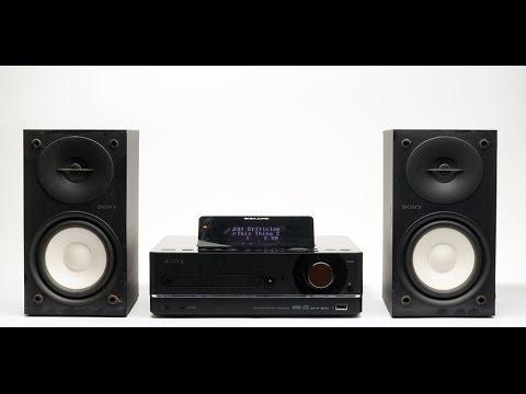 Sony NAS-E35HD GIGAJUKE Audio Set