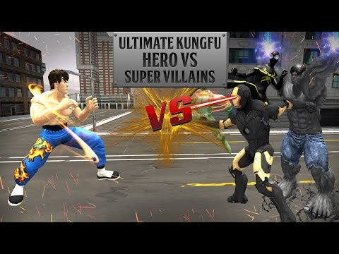 Ultimate KungFu Hero vs Super villains