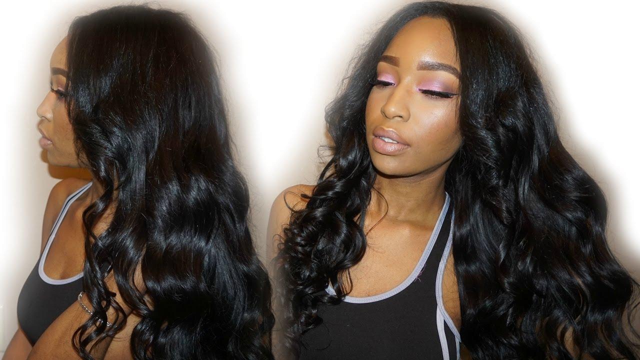 Unice Hair Initial Review Peruvian Body Wave Pashafierce Youtube