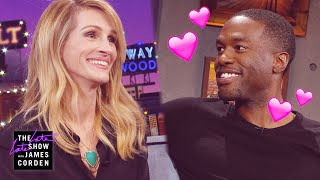 Yahya Abdul-Mateen II Meets His First Crush, Julia Roberts