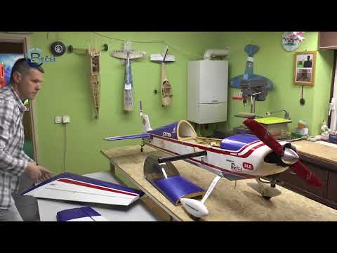 TV BEČEJ: Izrađuje avione, sa njima leti i za njih živi