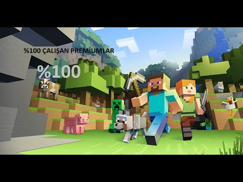 Minecraft premıum çarlar 100% bansız çalışıyor deneyin
