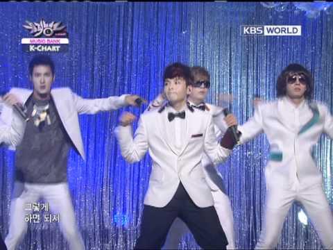 [Music Bank K-Chart] 3rd week of August & Super Junior - Mr. Simple (2011.08.19)