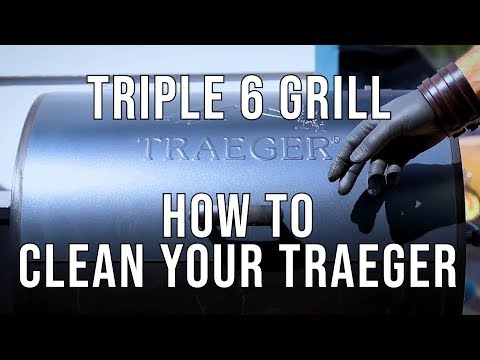 How To Clean Your Traeger - Triple 6 Grill
