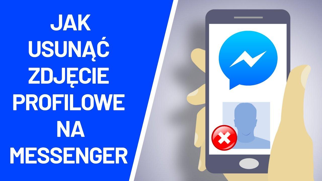 Jak usunąć zdjęcie profilowe na Messengerze ? - YouTube