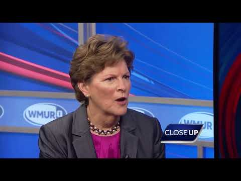 CloseUp: Sen. Jeanne Shaheen discusses issues currently affecting the country