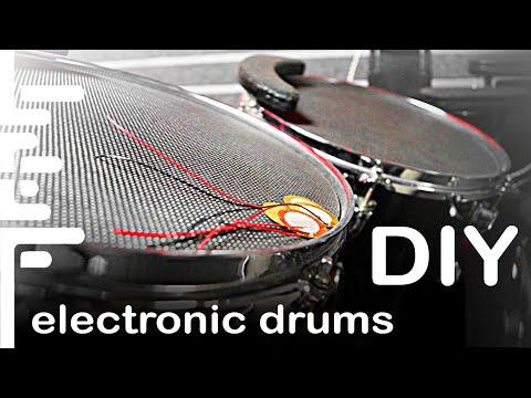 Электронная барабанная установка своими руками (мини обзор)