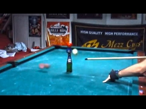 venom 39 s pool trick shots 55 youtube. Black Bedroom Furniture Sets. Home Design Ideas