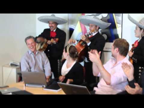 Surprise Mariachi Band at EF