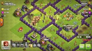 BEST TH8 Attack Strategy for 3 Stars in Clan War (after March 2016 update) Clash Strategy