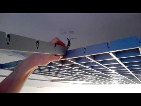Как собрать грильято потолок
