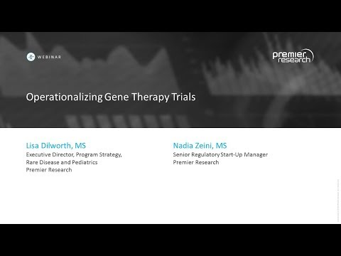 Operationalizing Gene Therapy Trials
