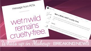 Wet N Wild Cruelty Free? This could change everything....