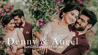 Kerala Christian Wedding Highlights 2021 | Denny & Angel