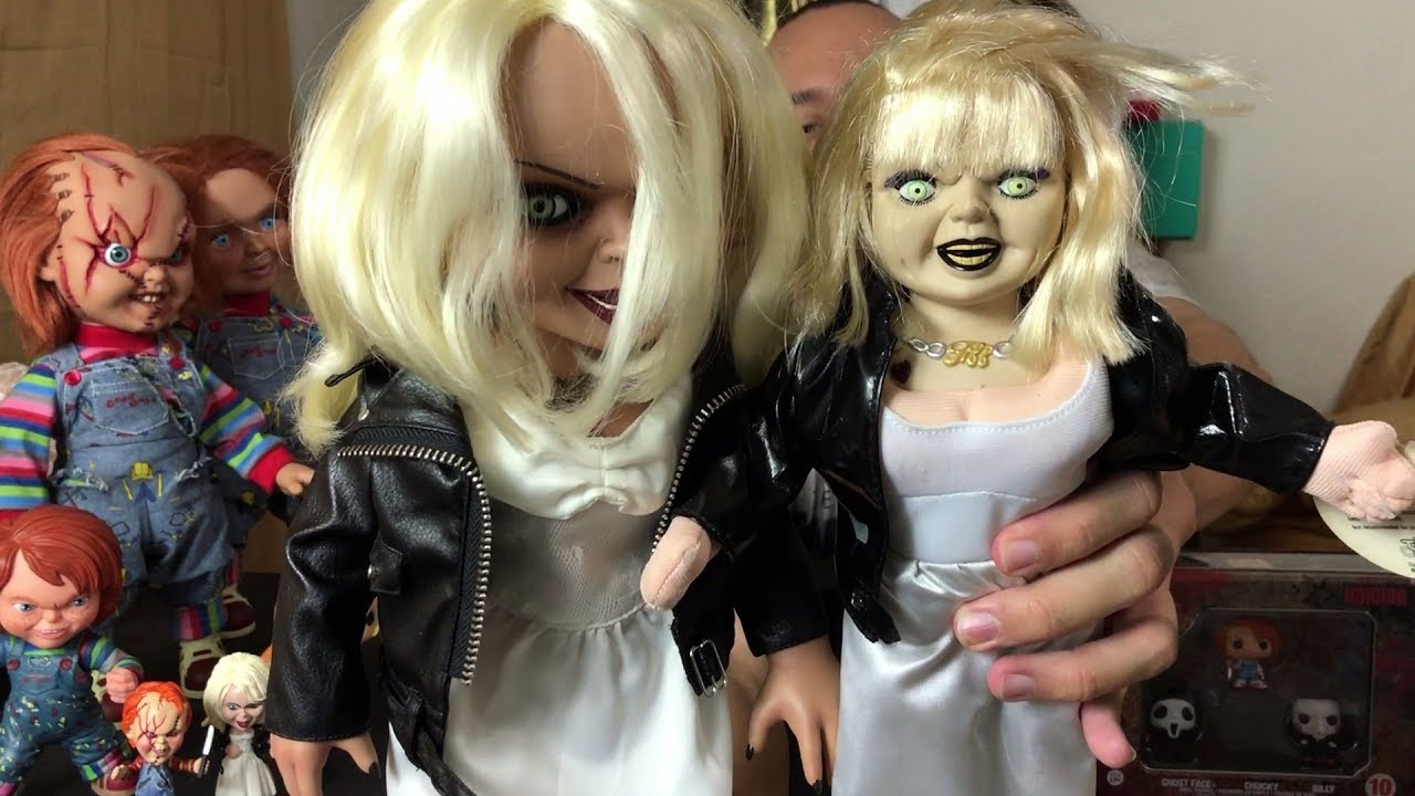 review | toy works tiffany doll (bride of chucky) - youtube