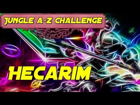 Hop, hop, hop, Hecarim lauf Galopp! - A-Z Challenge League of Legends Gameplay (German)