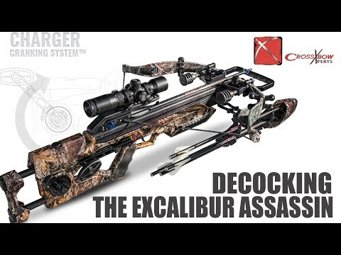 How to Uncock the Excalibur Assassin Crossbow - YouTube