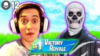 The Skull Trooper Returns! *Dan D Duos Victory Royale With Dad!*
