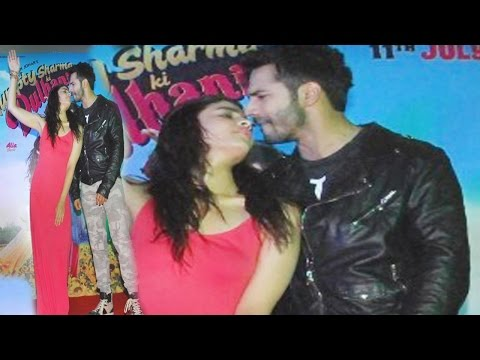 S**Y Alia Bhatt and Varun Dhawan Chemistry at Promotion