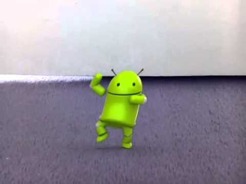 Dancing Android Robot! FXGURU